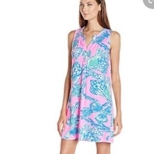 Lilly Pulitzer Essie Dress, Pink Pout, Medium